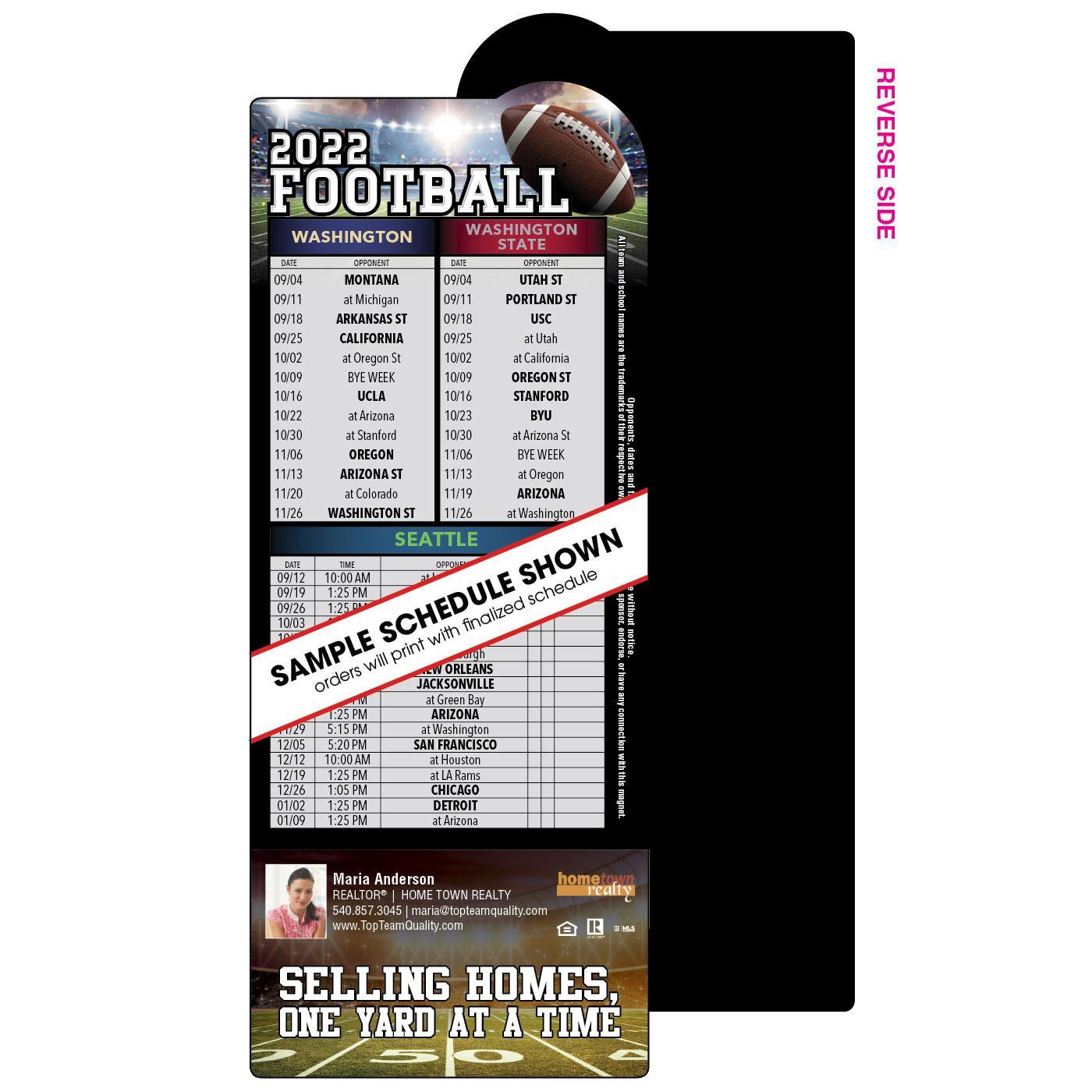 Bump Shape Football Schedule