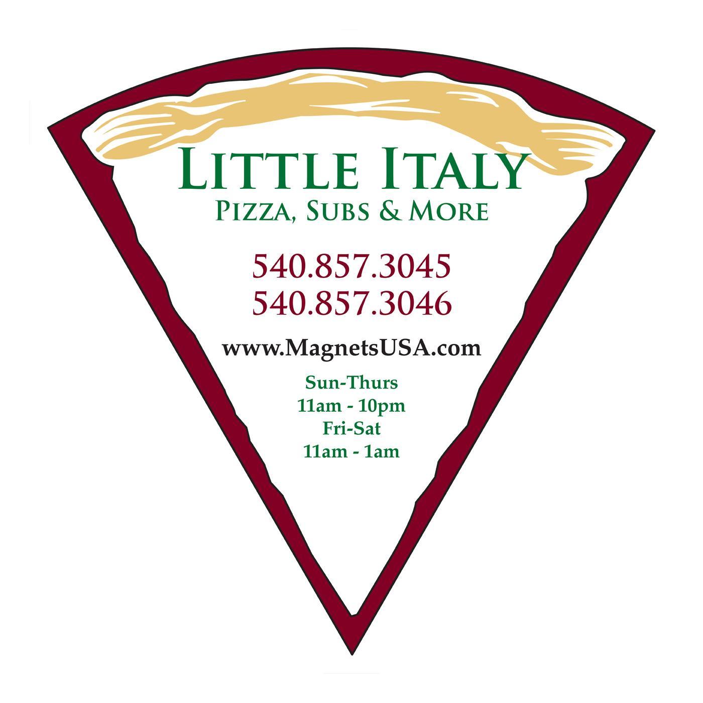 Jumbo Classic Slice Pizza Magnet