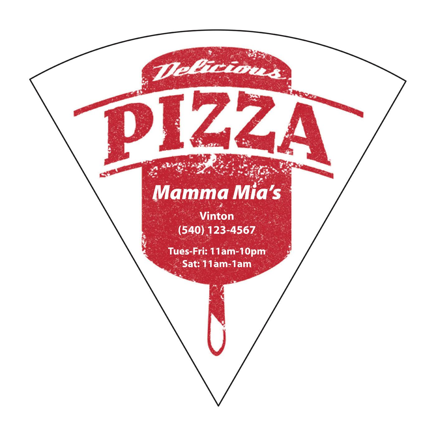 Jumbo Pizza Peel Pizza Magnet