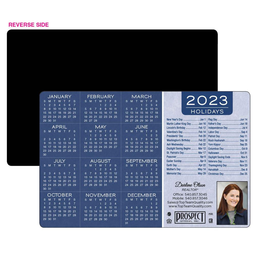 Calendar Magnet with Holiday List