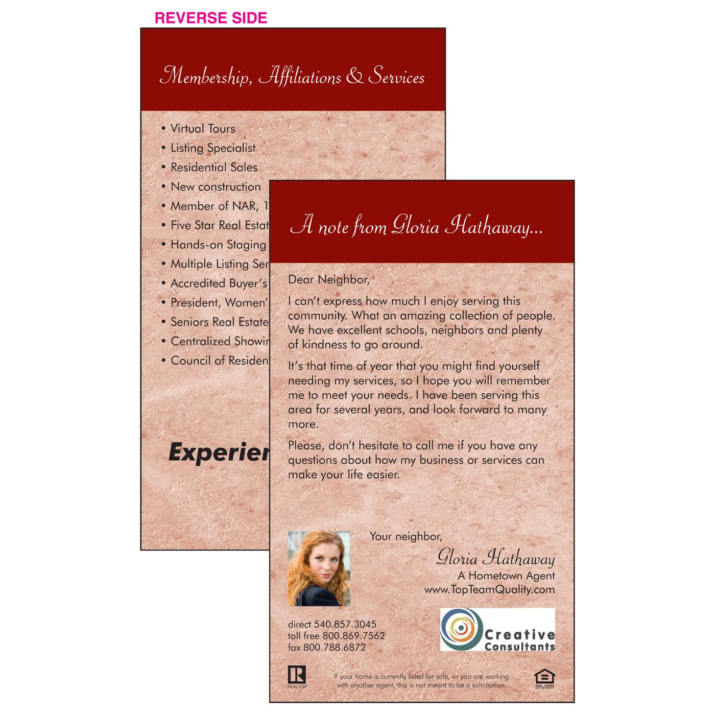 Personalized Insert | Professional Resume | Magnets USA®