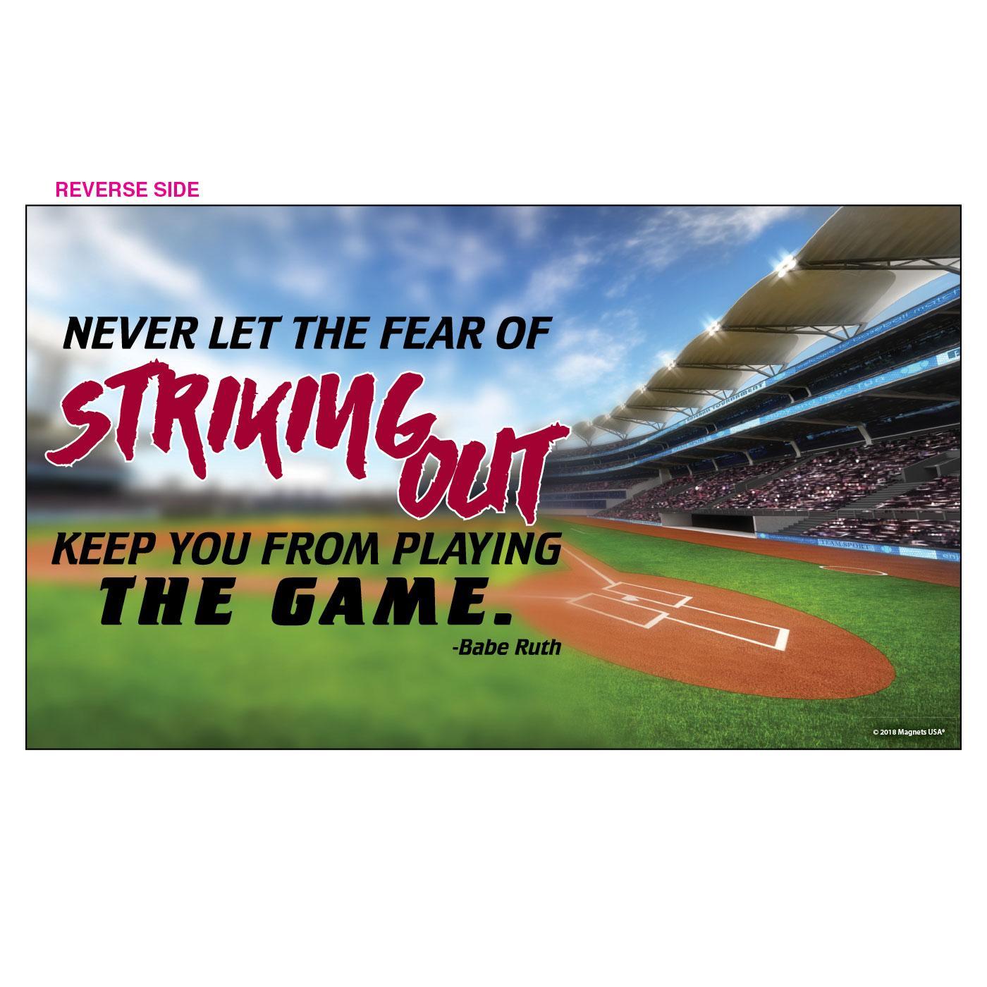 Jumbo Baseball Instant Insert