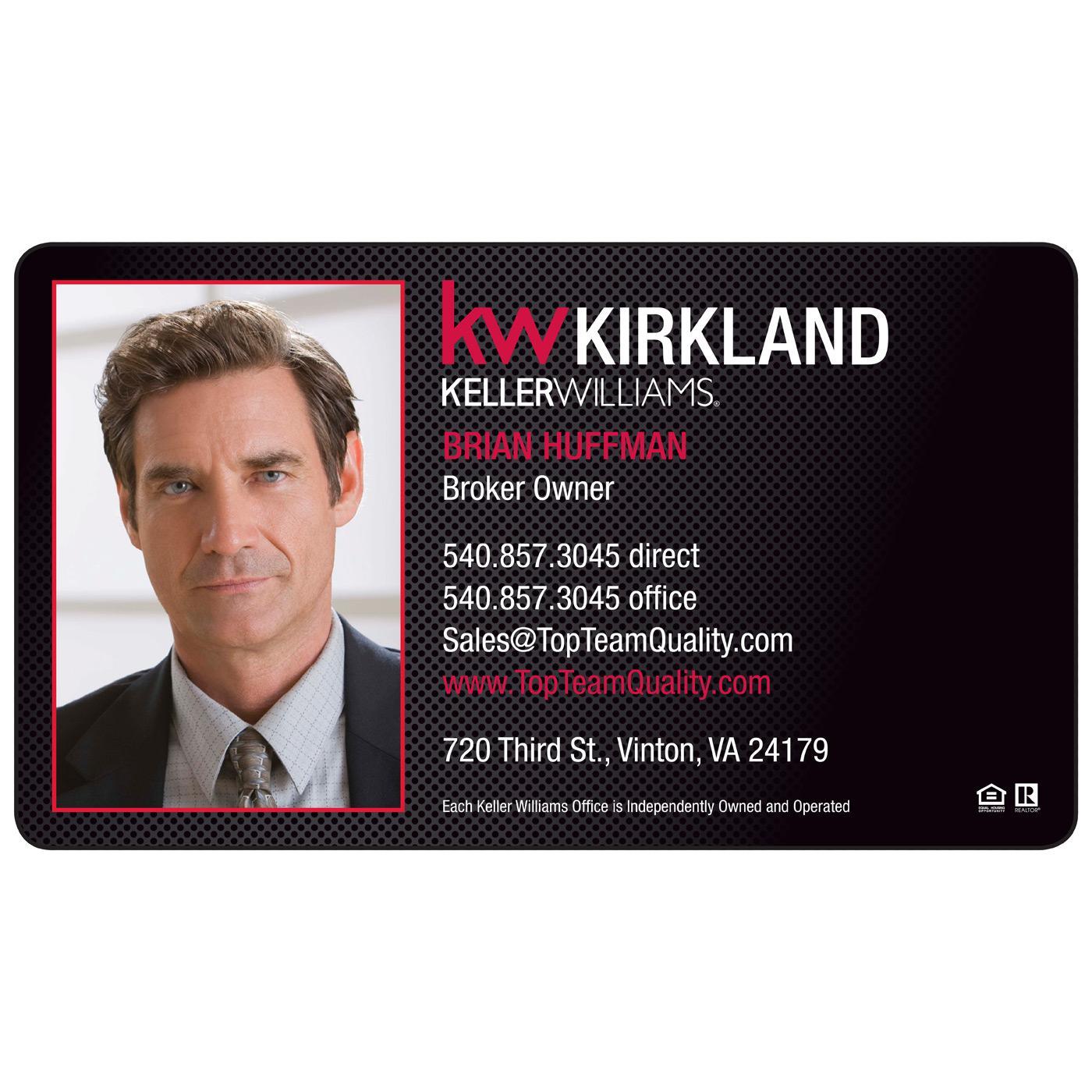 Magnetic business cards magnets usa keller williams magnetic business card colourmoves