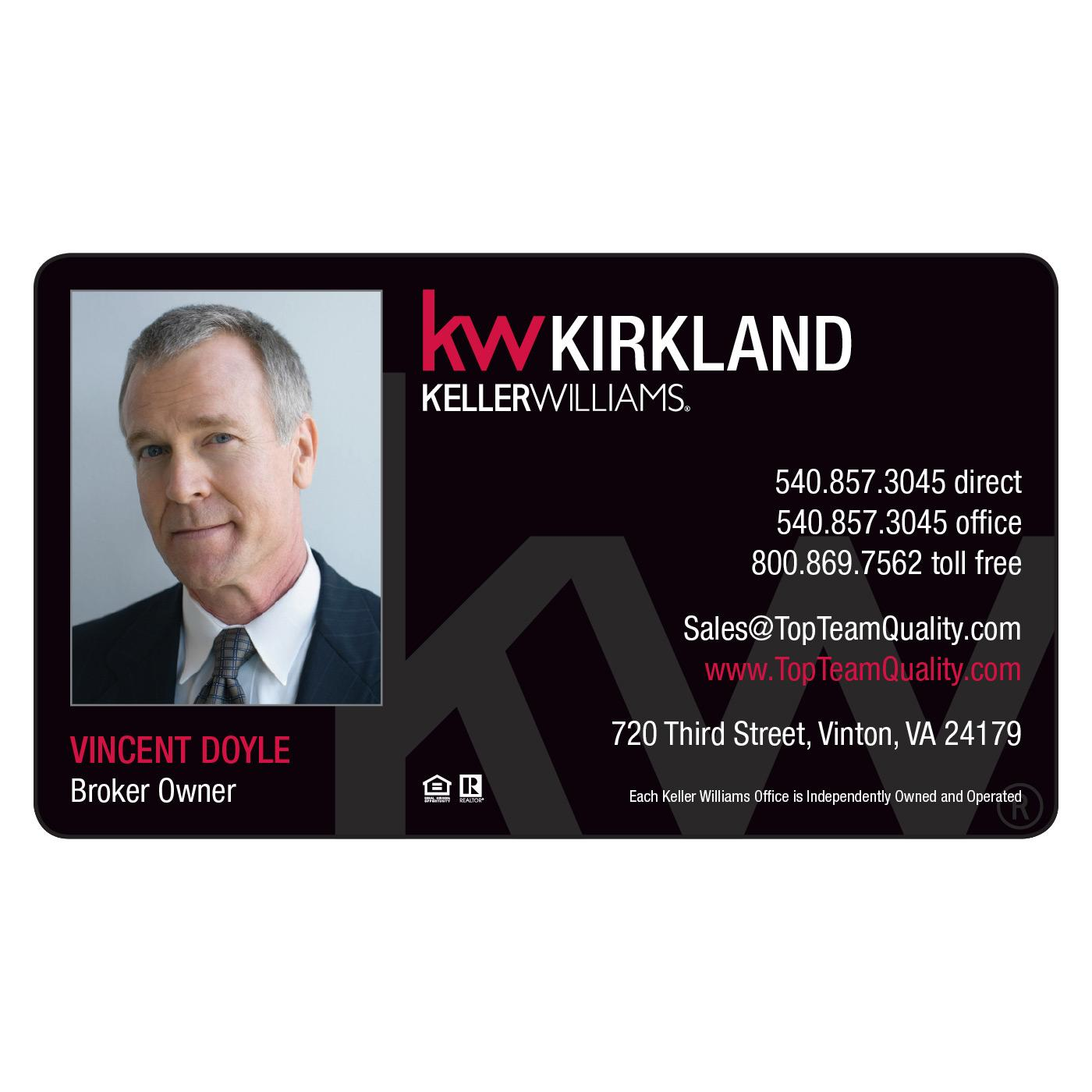 Keller williams magnetic business card magnets usa keller williams magnetic business card colourmoves
