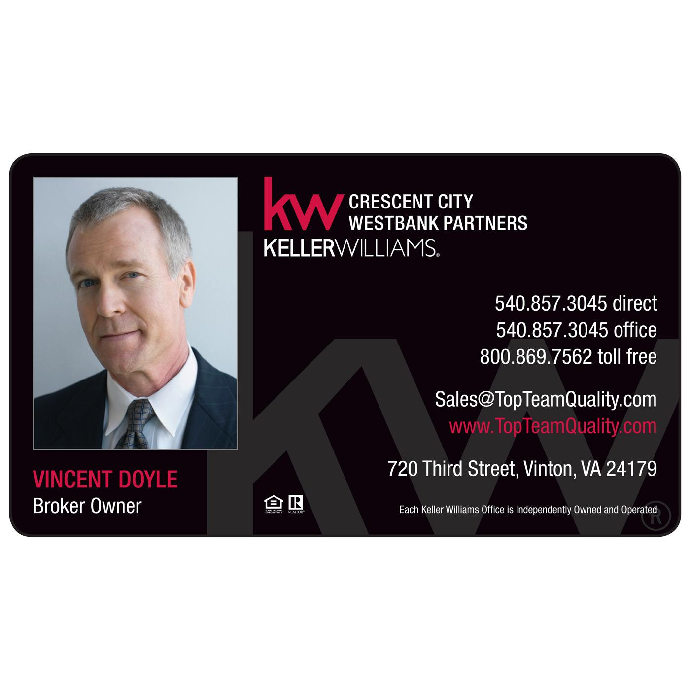 Keller Williams Magnetic Business Card | Magnets USA®