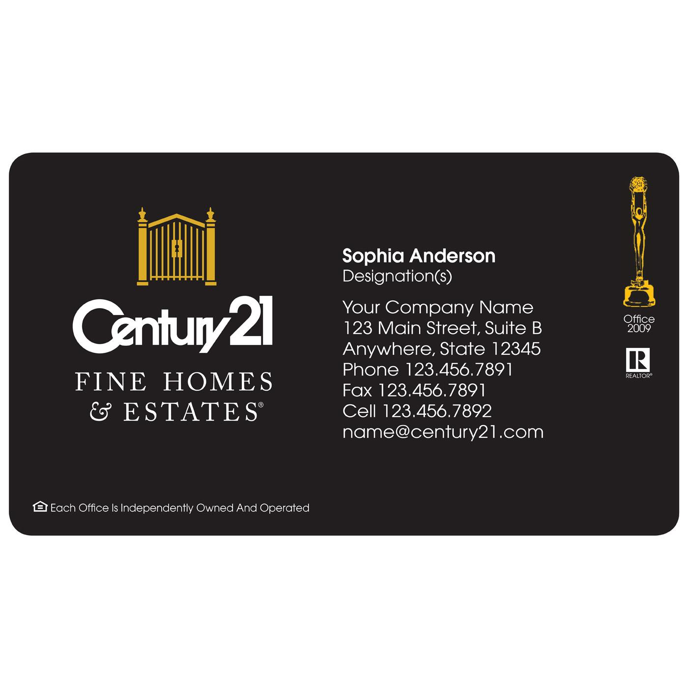 Century 21 Magnetic Business Card | Magnets USA®