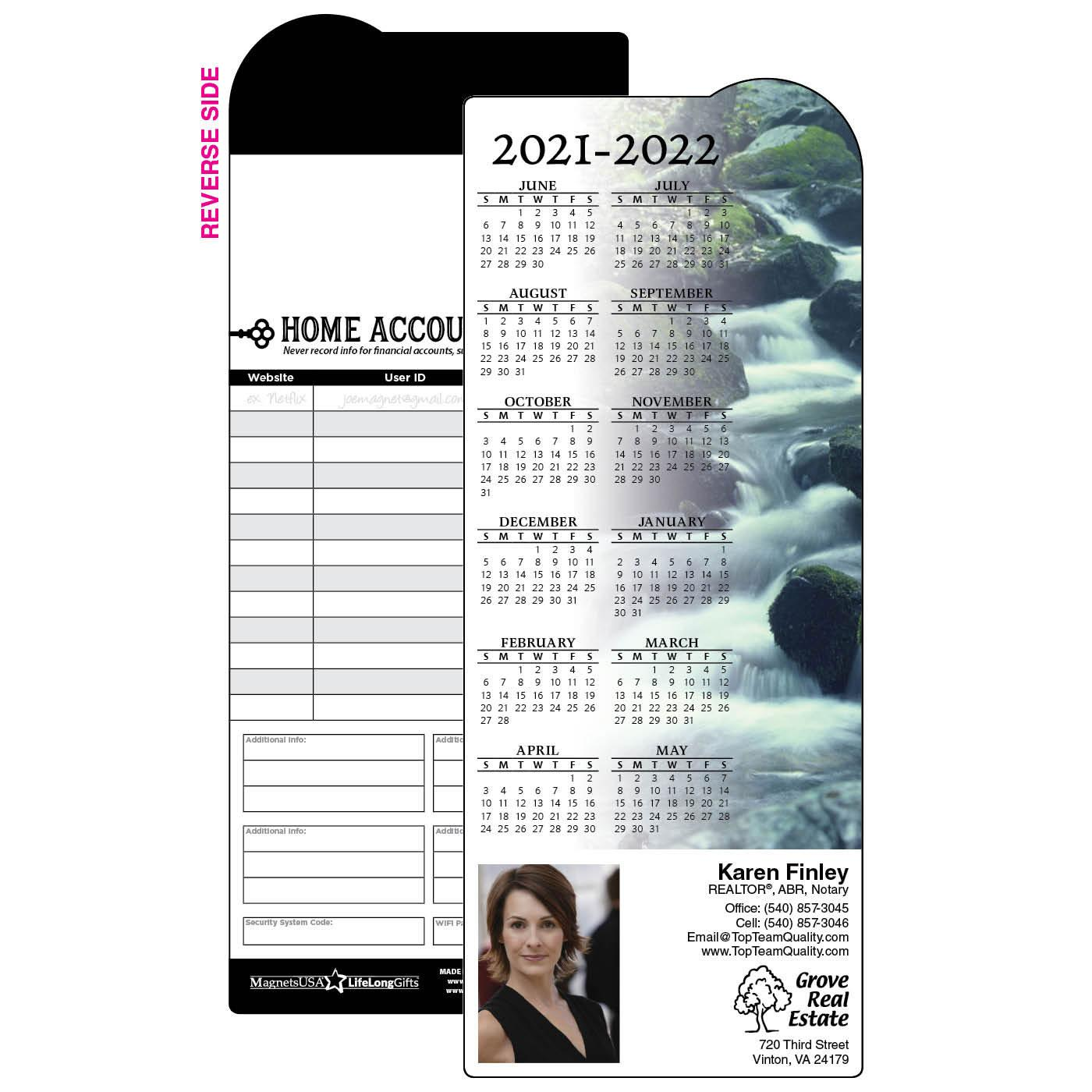 River Rock Mid-Year Calendar