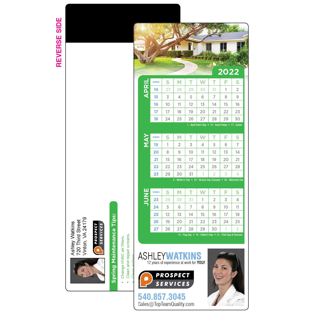 spring calendar custom mid year