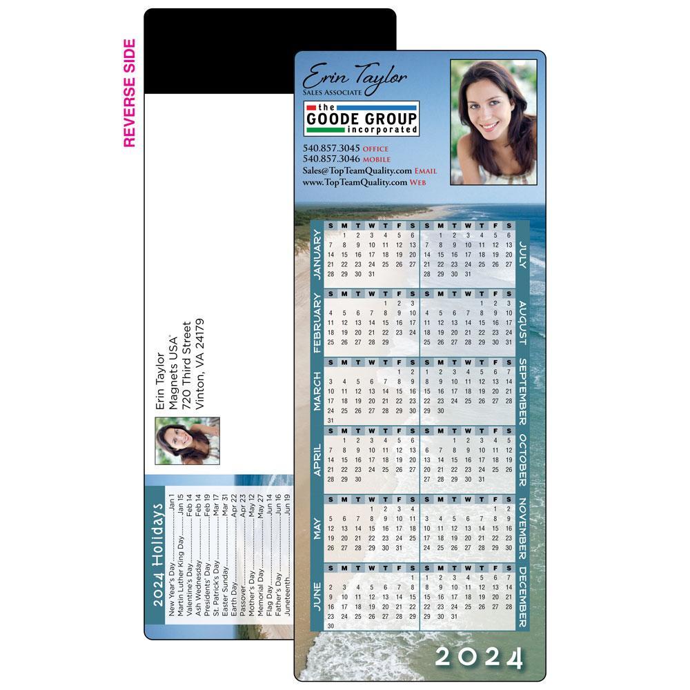 Self-Mailer Magnetic Calendar Card