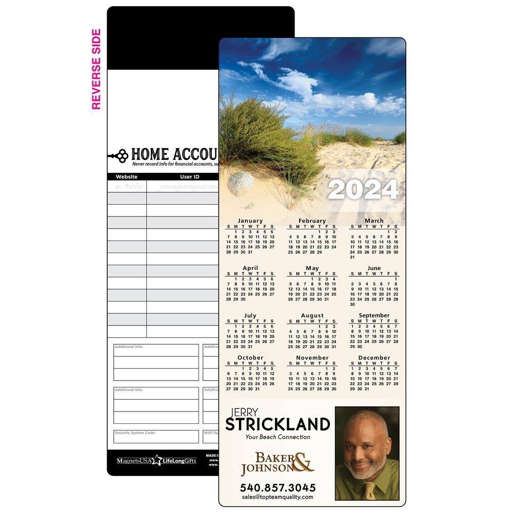 Calendar Magnet with Sand Dunes
