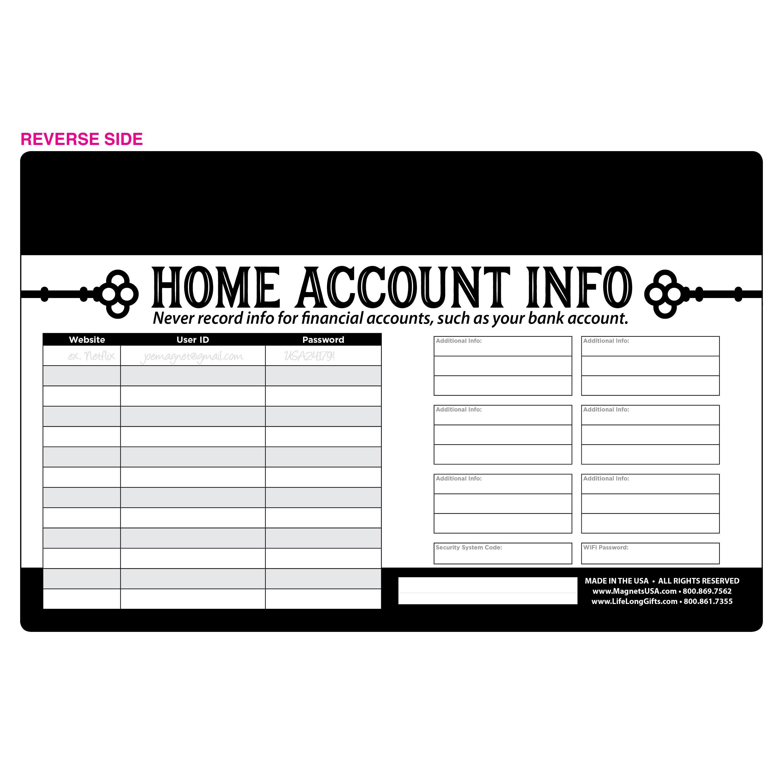 Jumbo Magnetic Baseball Schedule
