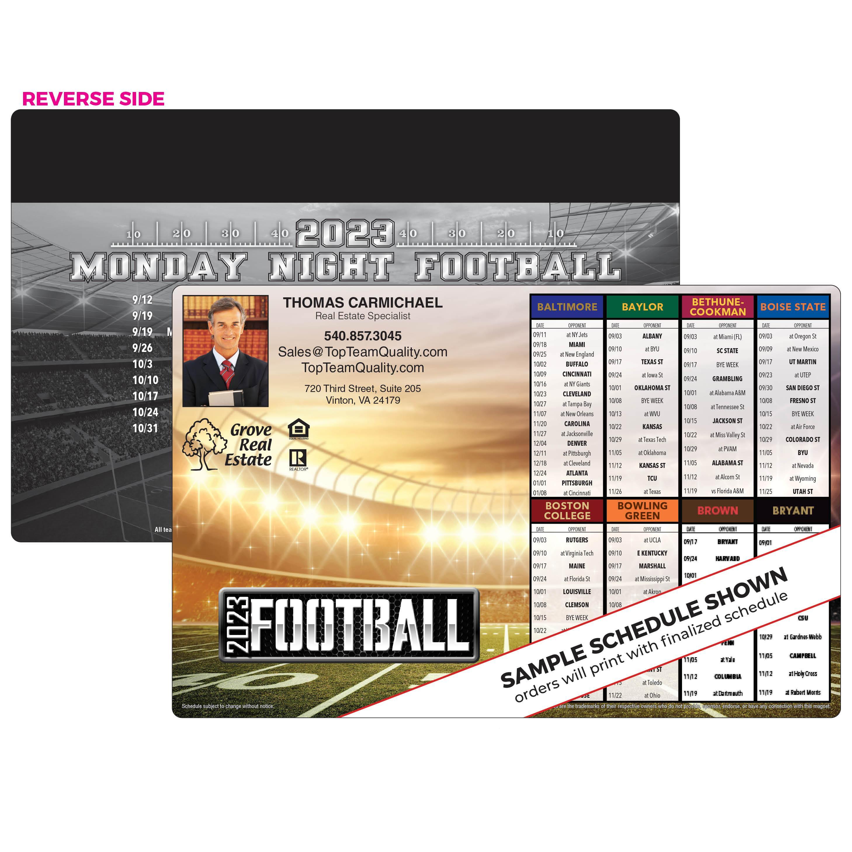 8-Team Jumbo Football Magnet