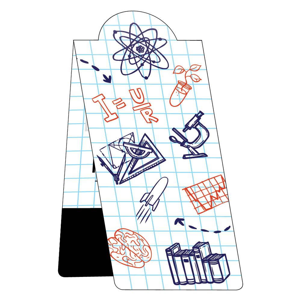 School magnetic bookmark