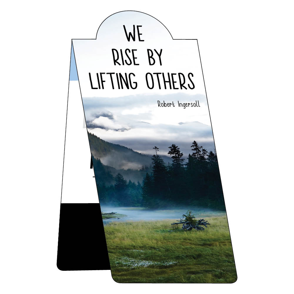 We rise by lifting others bookmark