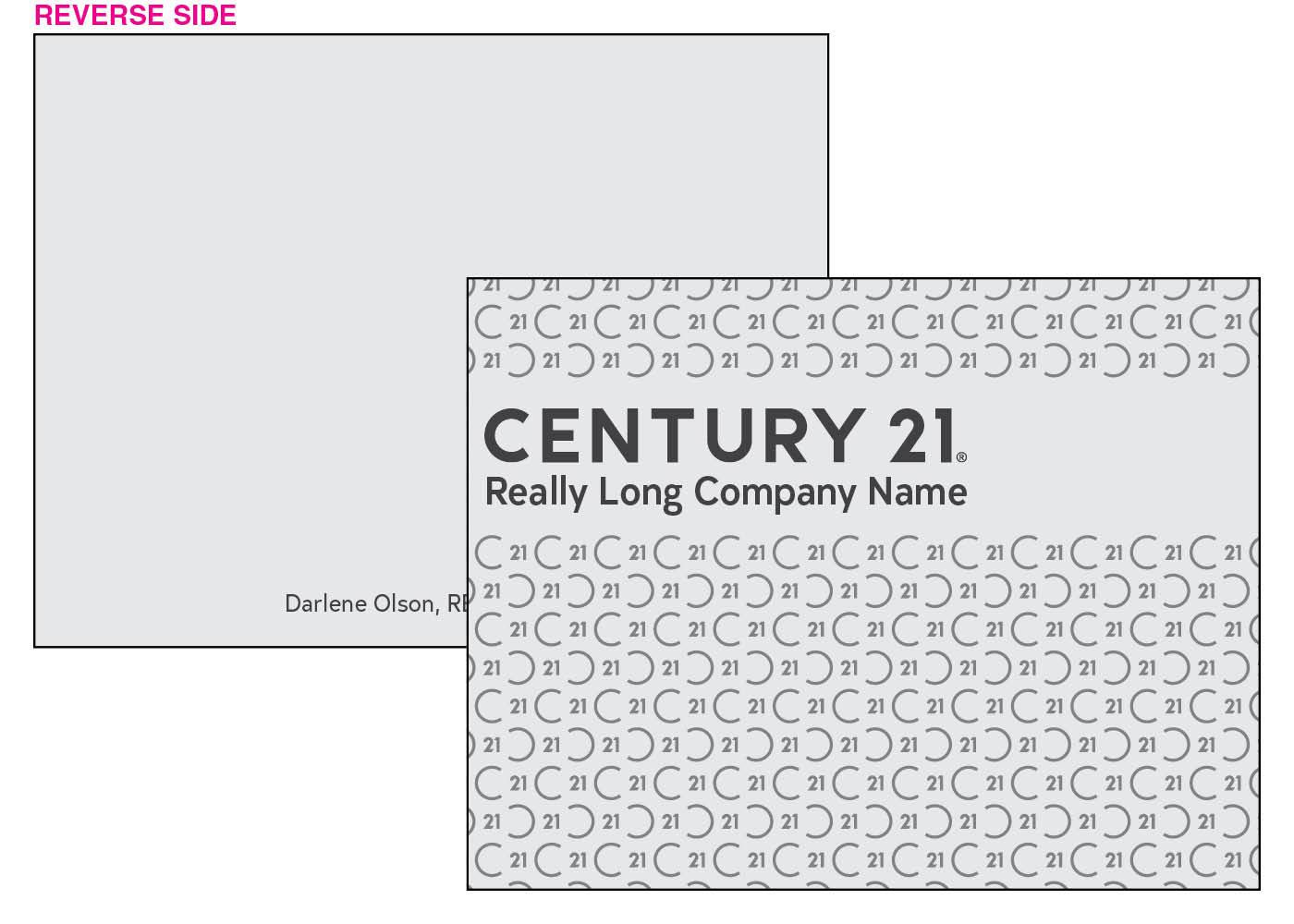 C21 pattern card