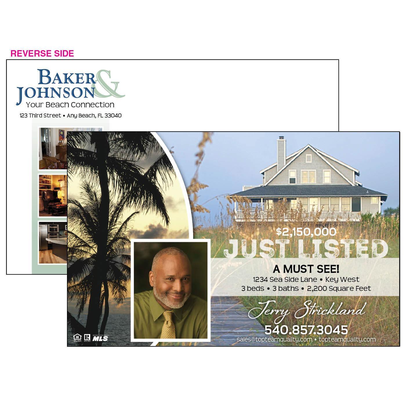 Stylish Home Listing Jumbo Postcard