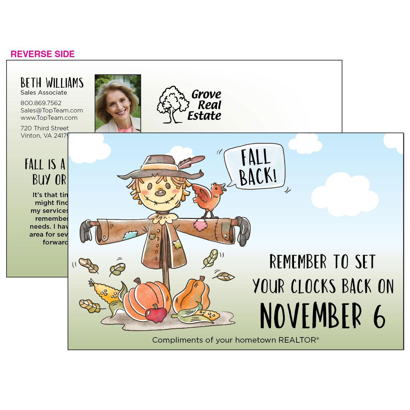 Personalized Marketing Postcard