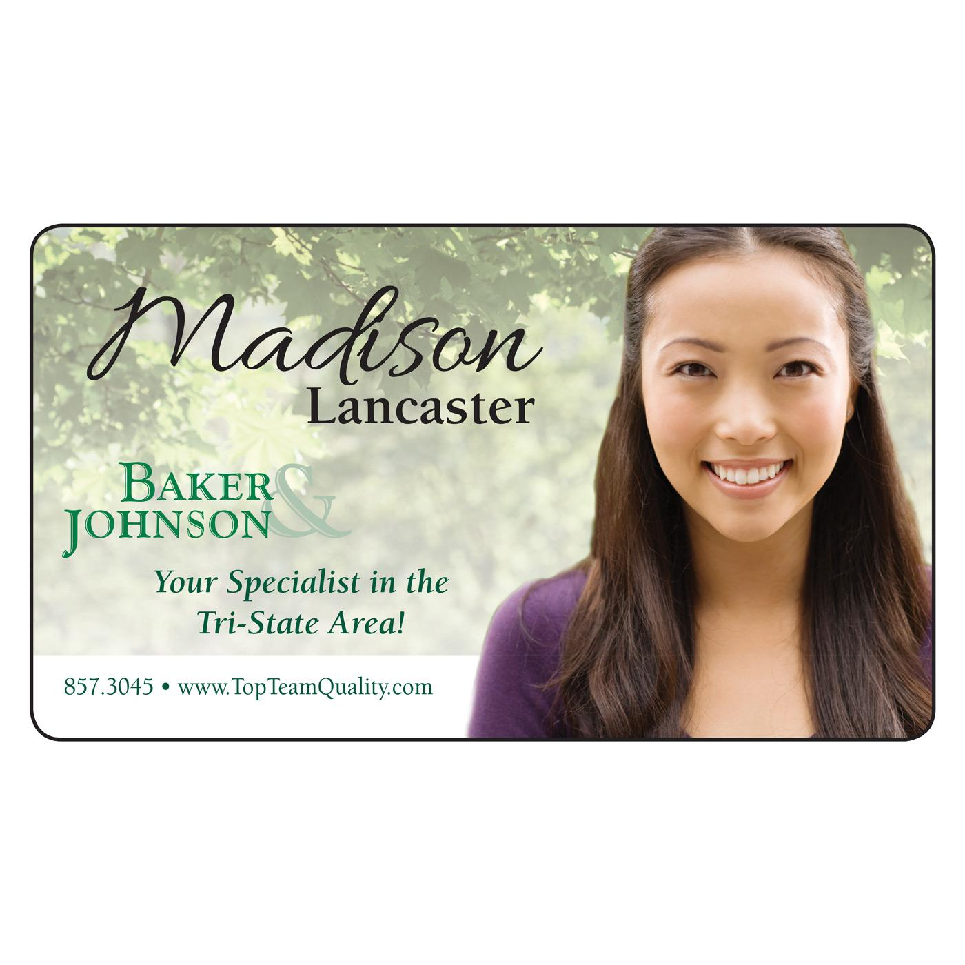 Magnetic business card magnets usa natural trees magnetic business card colourmoves