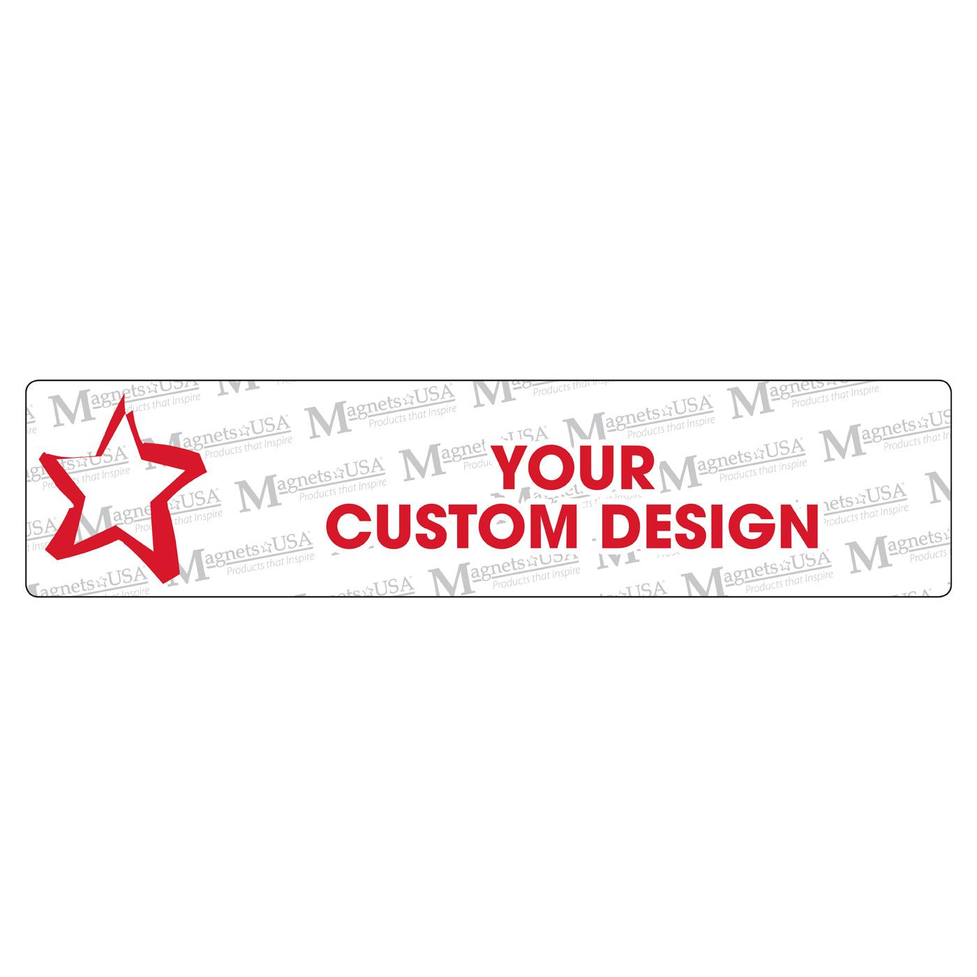 Custom Jumbo Ruler Magnet