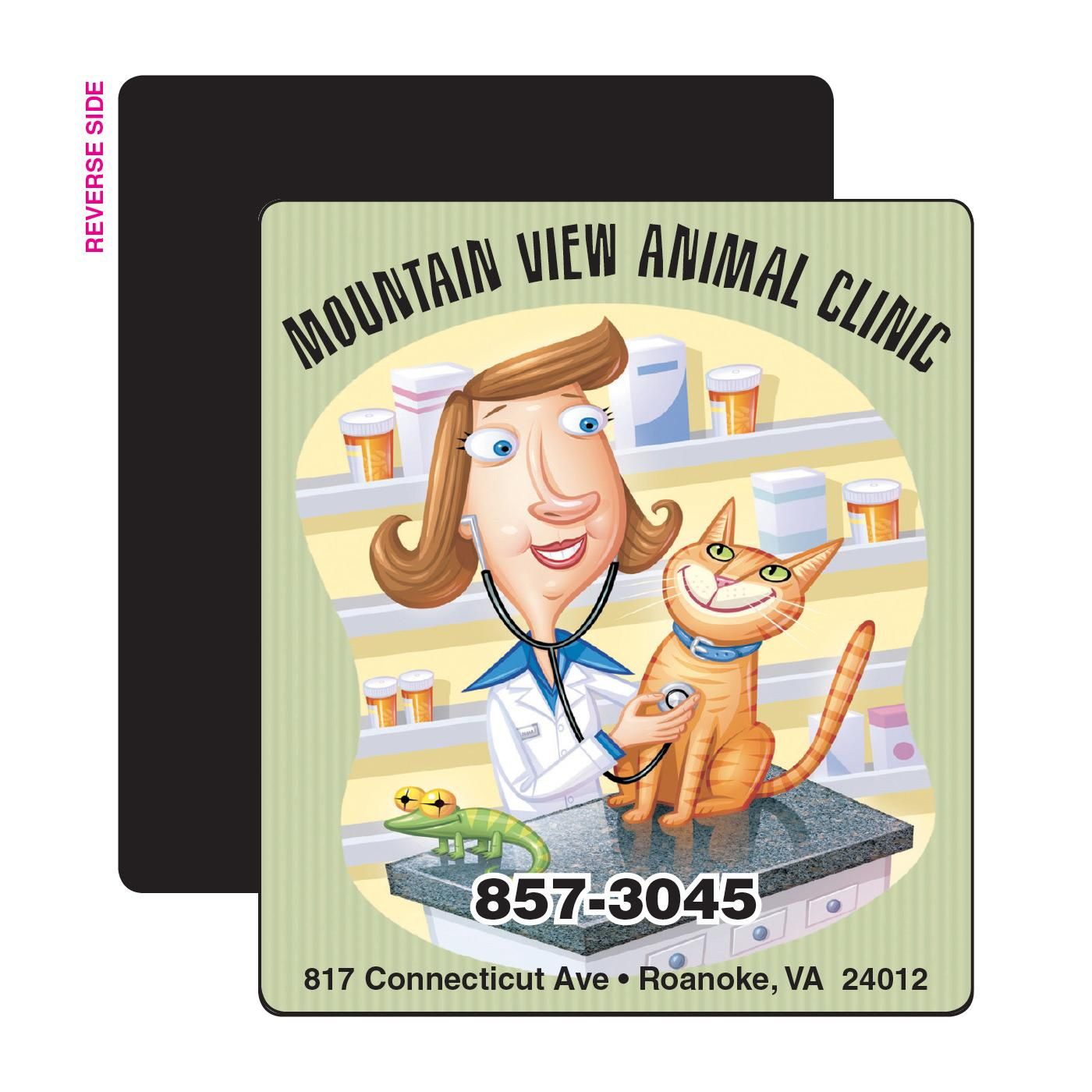 Veterinary Fridge Magnet