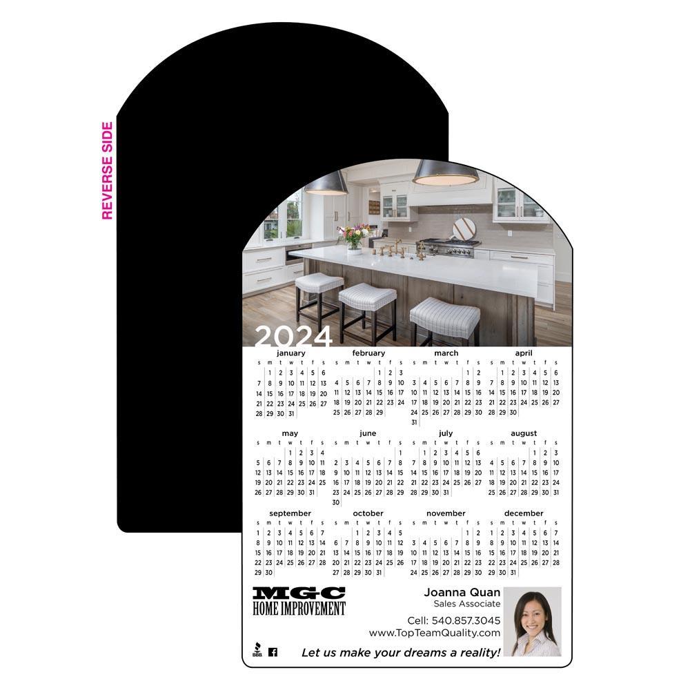 Calendar Magnet with Front Door