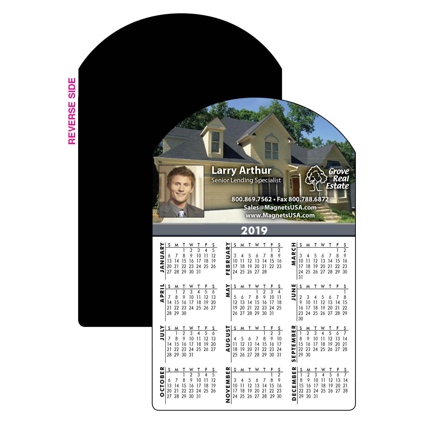 Home Sweet Home Calendar Magnet