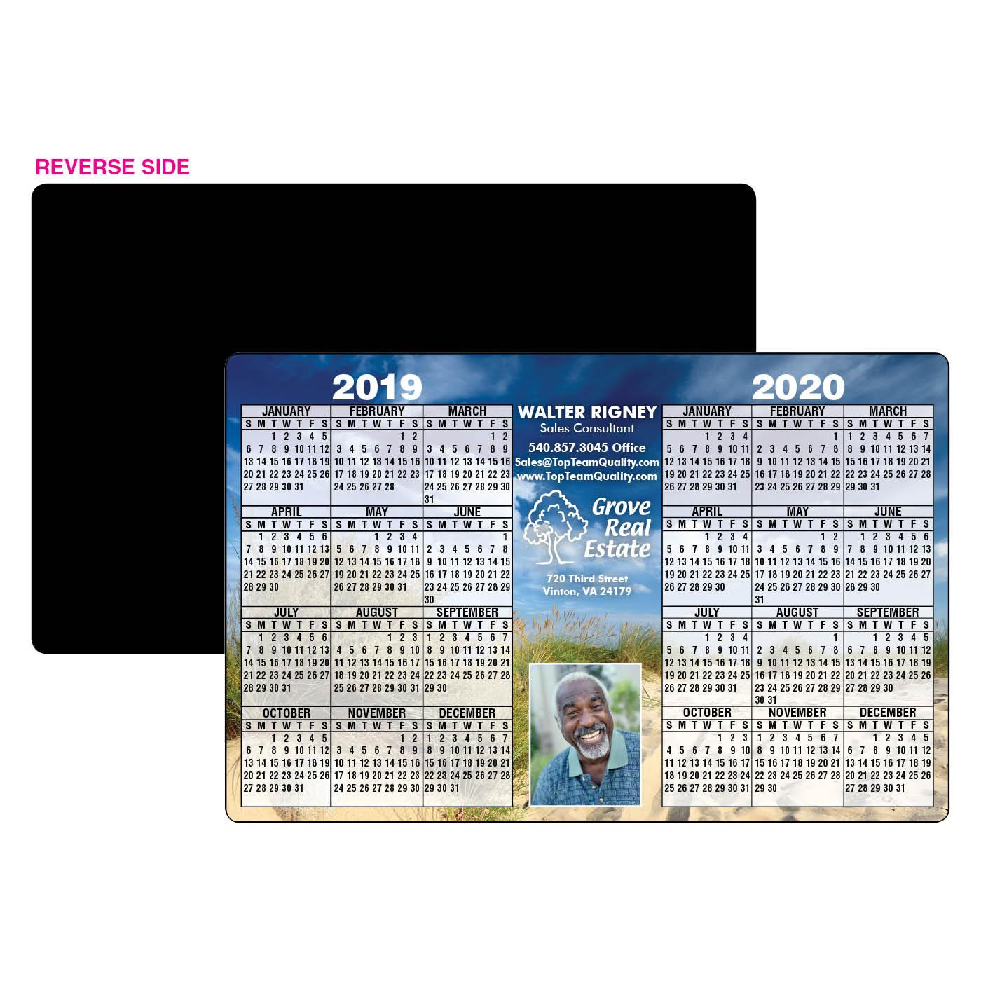 Calendar Magnets with Outdoor Scene
