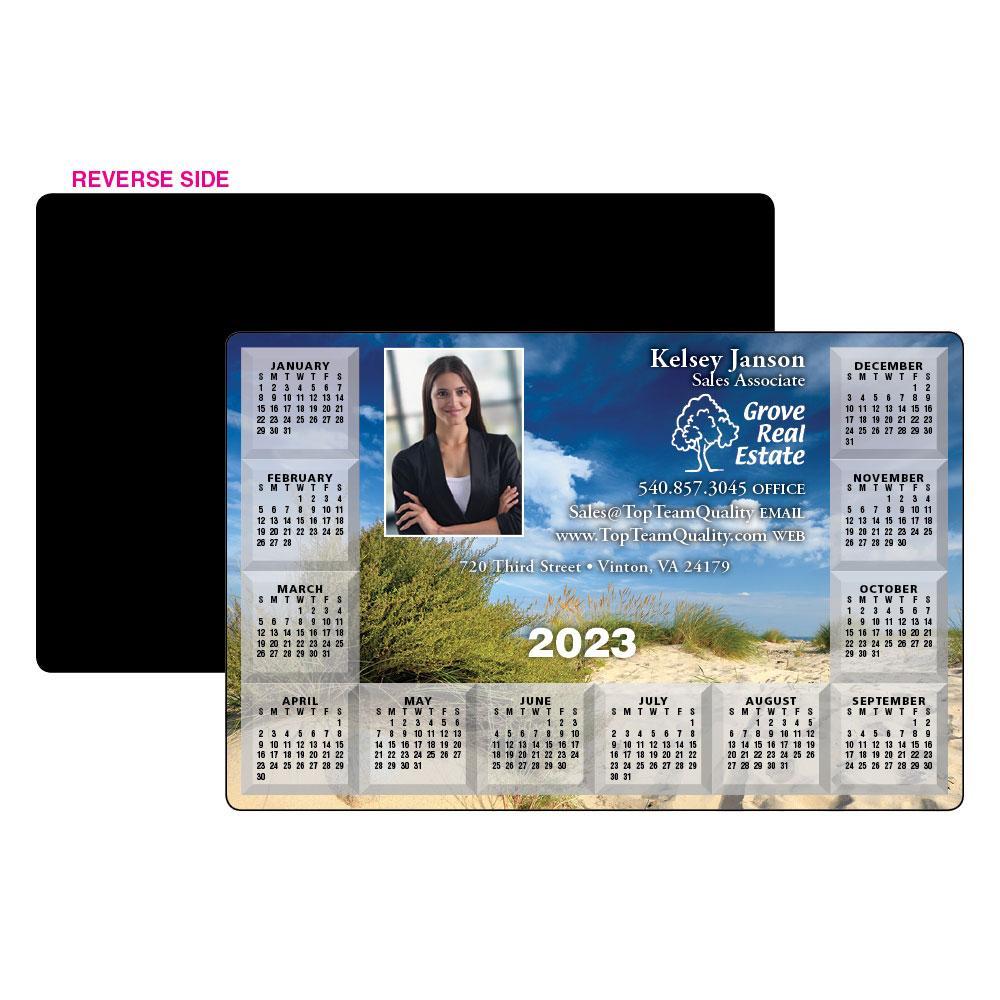 Calendar Magnet w/ Background Image