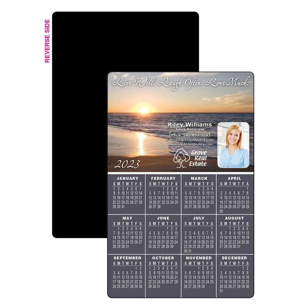 Live, Laugh, Love Calendar Magnet
