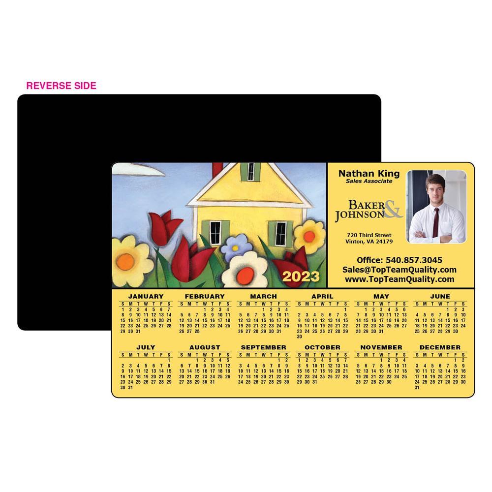 Calendar Magnet Home Illustration