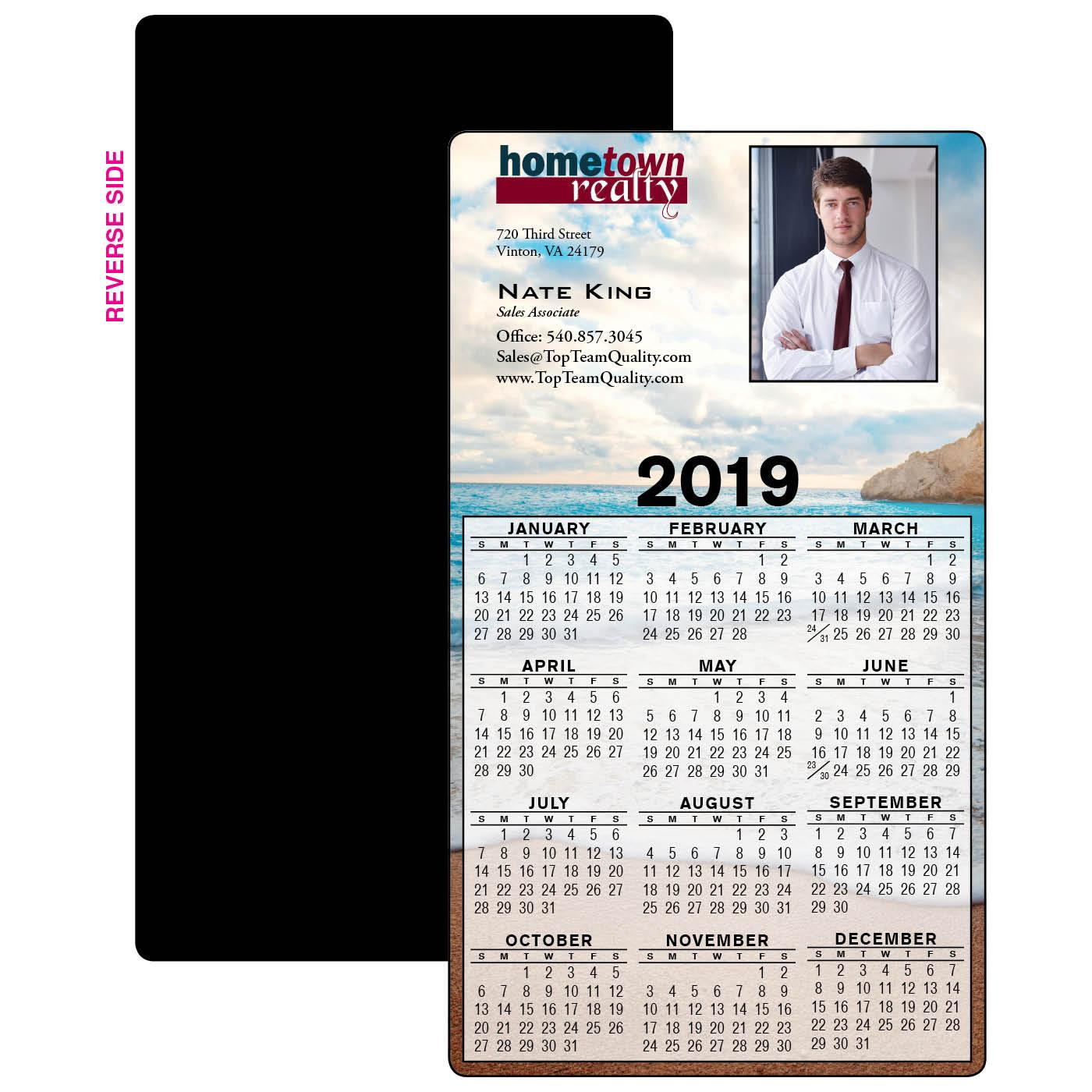 Year-at-a-Glance Calendar Magnets