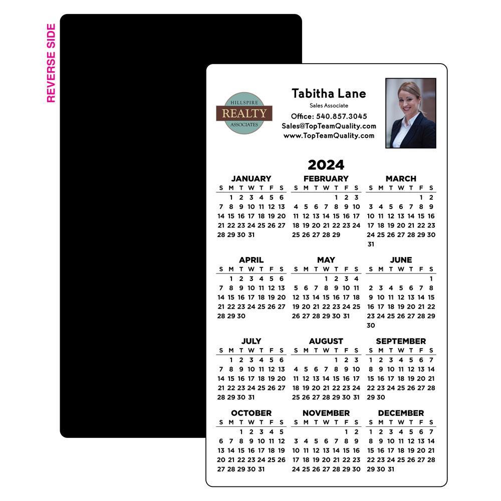 Year-at-a-Glance Calendar Magnet