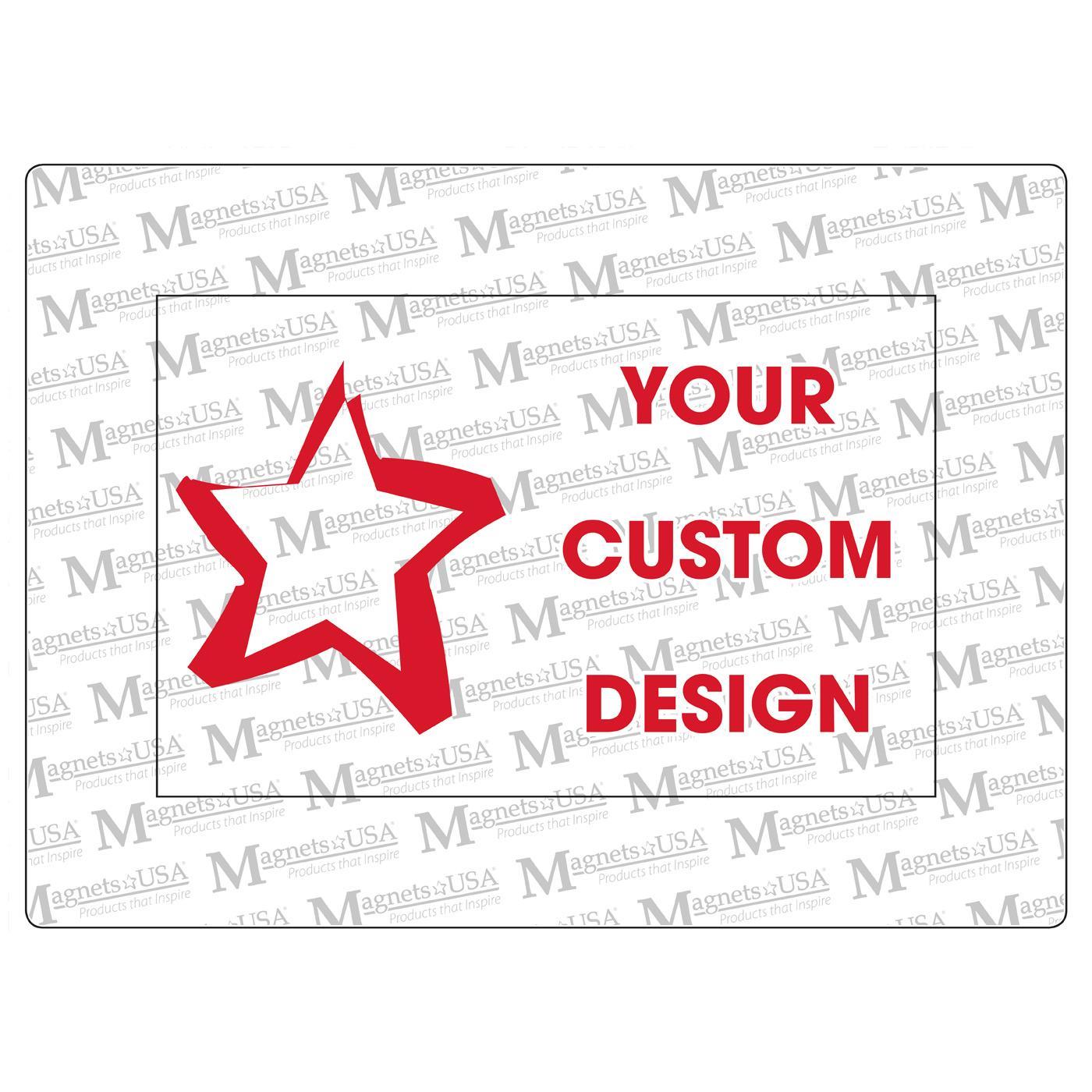 Custom Printed Photo Frame Magnet