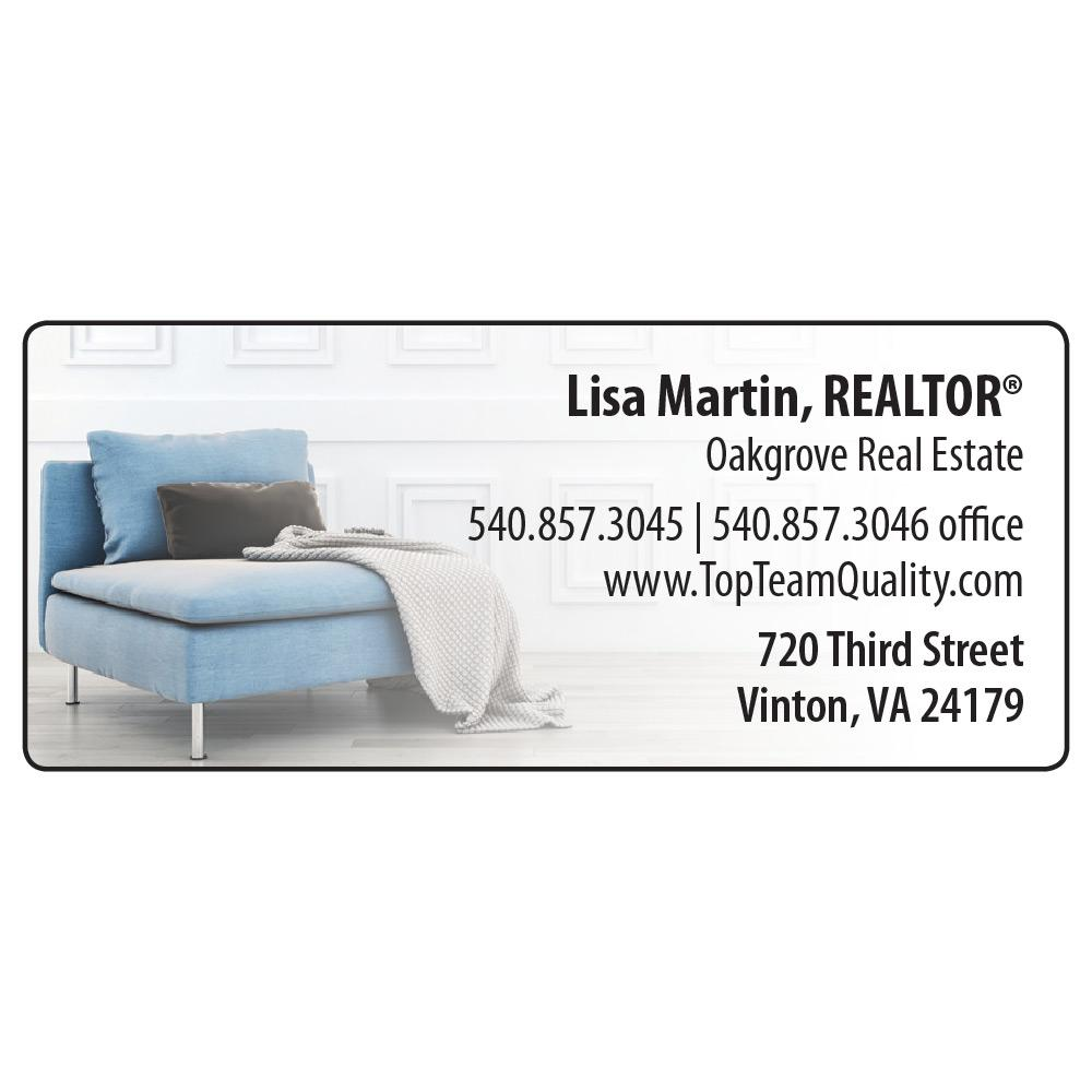 Large Return Address Label