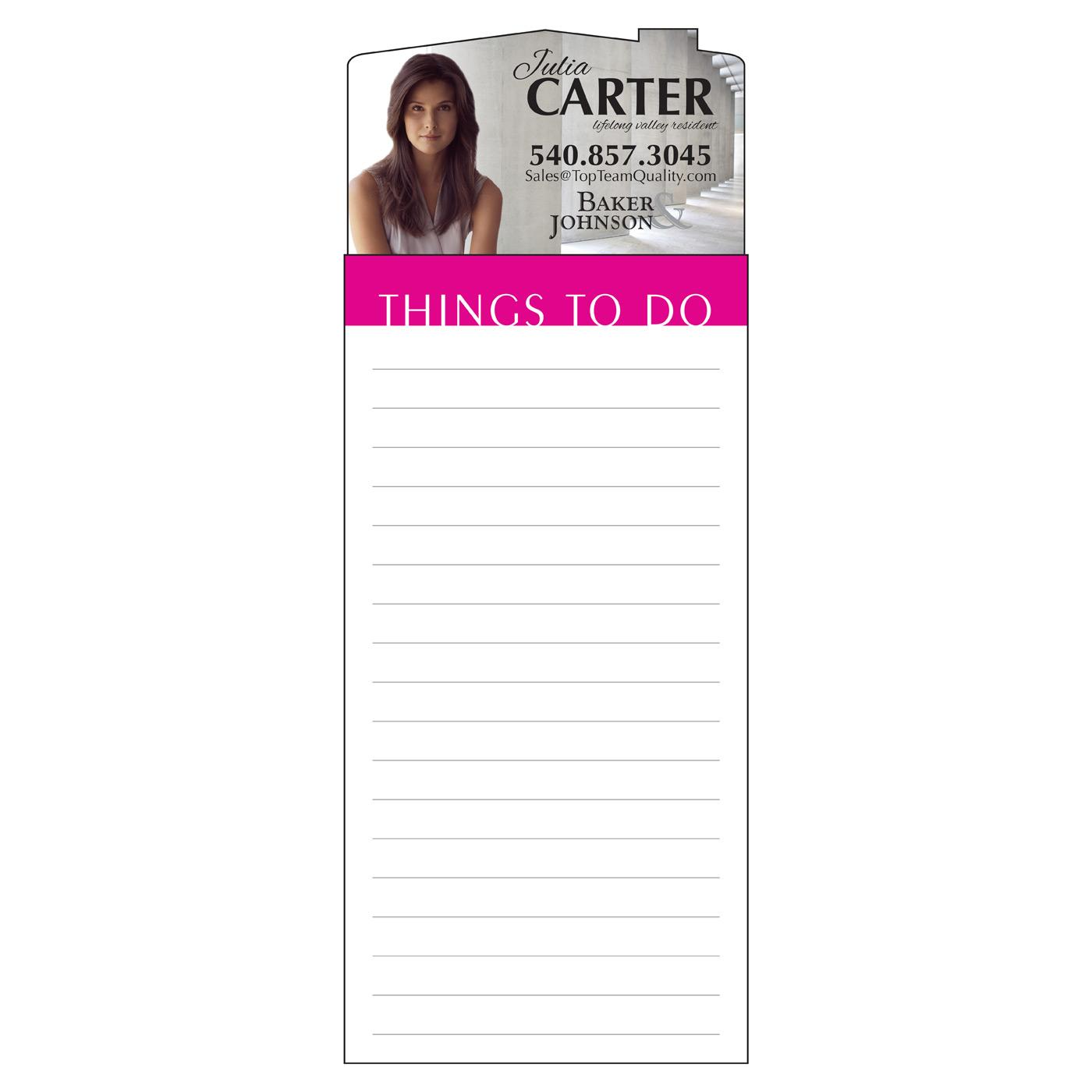 magnetic notepad for realtors
