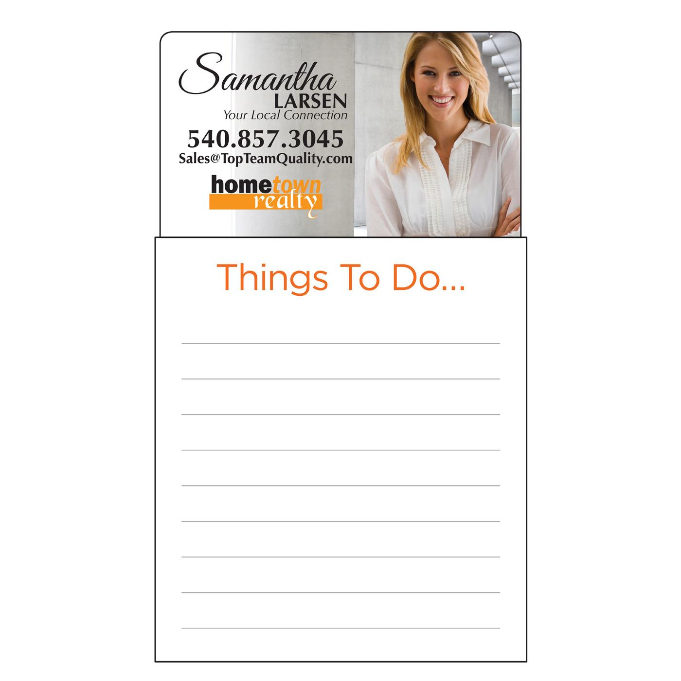 Things To Do Magnetic Notepad